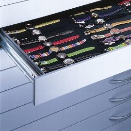 C+P Moosgummimatte 7100-706 für Flachablage-Schublade DIN A1 Serie 7100