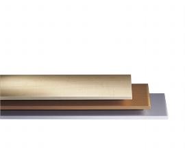 CP Abdeckplatte 7205-000 für Flachablageschrank Größe A0 (BxT) 1350x960mm Nussbaum