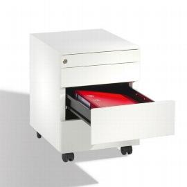 CP Rollcontainer Mini mit 4 Schubladen (HxBxT) 555x420x533mm Reinweiß