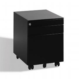 CP Rollcontainer Mini mit Hängerahmen Schwarz