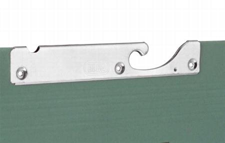hofe Pendelhefter-Grundregal OP HZG204010EL 2000x400x1000mm mit 6 Pendelstangen Elba/Leitz verzinkt