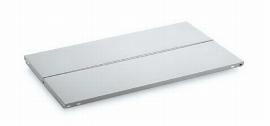 Hofe Fachboden Z07601 mit Mittelanschlaglochung (BxT) 750x600mm verzinkt