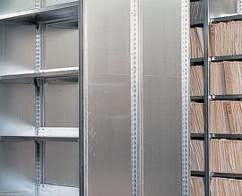 Hofe Seitenwand Plus Z513003 (Vollblech) einseitig Höhe 1750/2000mm verzinkt
