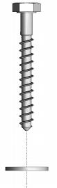 Hofe Kippsicherung Fupbodenverankerung ZW49 verzinkt 0-1899-zw49