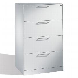 C+P Hängeregistraturschrank 146223-412 C 3000 Asisto 4 Schubladen 2-bahnig (HxBxT) 1298x800x600mm Lichtgrau