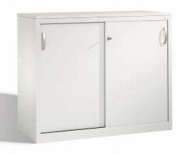 C+P Schiebetürenschrank Sideboard 2056-00 C 2000 Acurado (HxBxT) 1000x1200x500mm Lichtgrau DBS Hellgrau