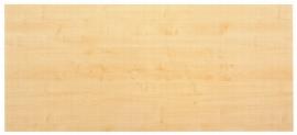 Hammerbacher Fachboden 6005 SOLID (BxT) 462x393mm für Rollladenschrank SET50 Ahorn