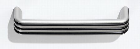 Hammerbacher Kombischrank 7300 SOLIDplus 5OH mit 2 Hängeregistraturschübe abschließbar (BxTxH) 80x42x200,4cm Ahorn Streifengriff