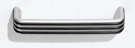 Hammerbacher Kombischrank 7600 SOLIDplus Regal 3OH +4 Schubladen unten (BxTxH) 40,6x42x200,4cm Ahorn Streifengriff