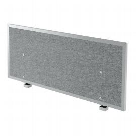 Hammerbacher Akustik-Trennwand ATW12 (BxTxH) 1195x275x500mm Filzoptik grau-meliert