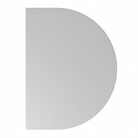 Hammerbacher Ansatztisch BA60 mit Stützfuß (BxT) 60x80cm Ahorn/Silber