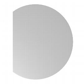 Hammerbacher Ansatztisch HA80 mit Stützfuß (BXT) 100x80cm Ahorn/Silber