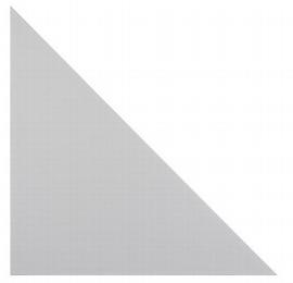 Hammerbacher Füllplatte Callcenter HCP5 (BxT) 56,6 x 56,6cm Grau
