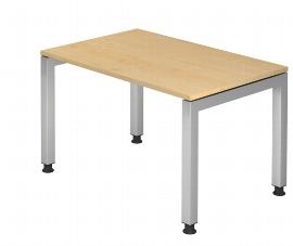 Hammerbacher Schreibtisch Serie JS12 Arbeitshöhe 68-76cm (BxT) 120x80cm Ahorn