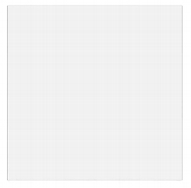 Hammerbacher Konferenztisch Serie K - nur die Tischplatte (BxT) 80x80cm Weiß