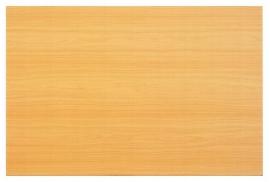 Hammerbacher Konferenztisch Serie K - nur die Tischplatte (BxT) 120x80cm Buche