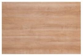 Hammerbacher Konferenztisch Serie K - nur die Tischplatte (BxT) 120x80cm Nussbaum