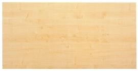 Hammerbacher Konferenztisch Serie K - nur die Tischplatte (BxT) 160x80cm Ahorn