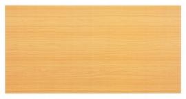 Hammerbacher Konferenztisch Serie K - nur die Tischplatte (BxT) 160x80cm Buche