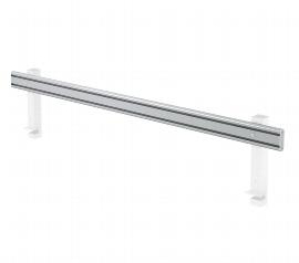 Hammerbacher Orga-Schiene ORGSC12 für Breite 120 cm ohne Halterung Silber