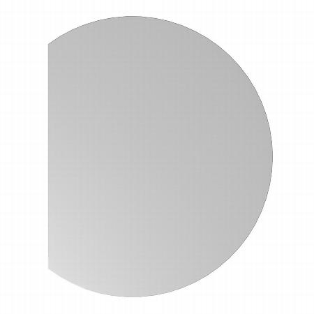 Hammerbacher Ansatztisch QA80 mit Stützfuß (BXT) 100x80cm Ahorn/Silber