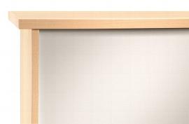 Hammerbacher Sideboard SBOF offen (BxTxH) 166,1 x 44,8 x 84cm Korpusfarbe Ahorn