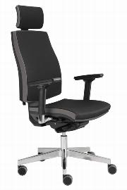 Hammerbacher Bürodrehstuhl SDP1/D Premium Design-Bezug Schwarz