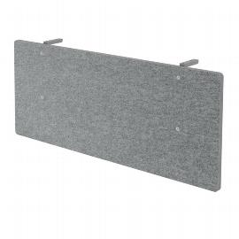 Hammerbacher Knieraumblende SIA12 Akustik für 120cm breite Tische Grau