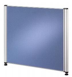 Hammerbacher Trennwand TR05 für Call-Center Tische (BxTxH) 53x2x45 cm Blau