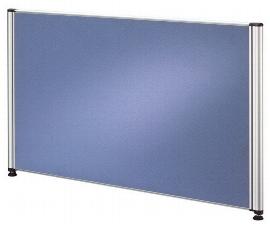 Hammerbacher Trennwand TR08 für Call-Center Tische (BxTxH) 77,5x2x45 cm Blau