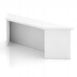 Hammerbacher Thekenaufsatz WB08 UNIVERSAL für Schreibtische 80cm breit Ahorn