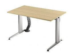 Hammerbacher Schreibtisch XE12 AKTIVplus Steh-/Sitzarbeitsplatz höhenverstellbar 72-119cm (BxT) 120x80cm Ahorn