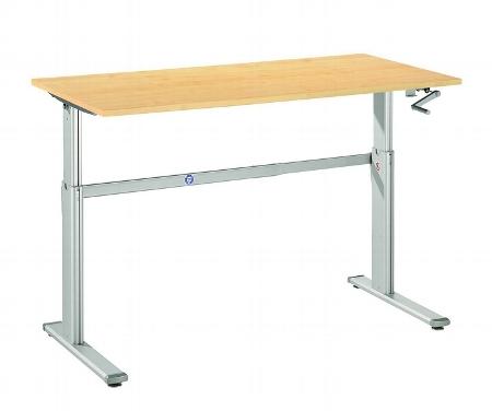 Hammerbacher Schreibtisch XK16 ECONOMYplus Steh-/Sitzarbeitsplatz höhenverstellbar 72-119cm (BxT) 160x80cm Ahorn