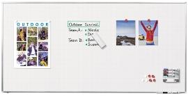 Legamaster 7-100076 Whiteboard Professional 120x240cm emaillierte Oberfläche