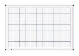 Legamaster 7-101743 Whiteboard PREMIUM Raster 50mm 60x90cm