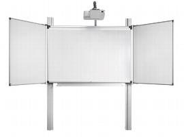 Legamaster 7-195250-260 Pylonensystem 260cm Höhenverstellung für e-Board Touch