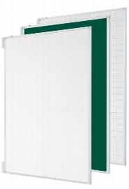 """Legamster 7-195314 Tafelflügel-Set für Projektionsboard 88"""" mit Whiteboard-Oberfläche Weiß/Weiß"""