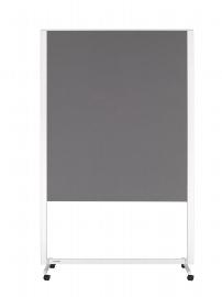 Legamaster 7-202500 Moderationswand Professional mobil beidseitiger Filzbezug grau