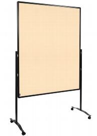 Legamaster 7-204110 Moderationswand Premium Plus MOBIL 150x120cm Textil beige