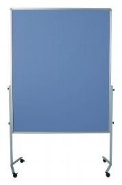 Legamaster 7-204600 Moderationswand Premium MOBIL 150x120cm Textil anthrazit