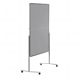 Legamaster 7-205500 Moderationswand Premium MOBIL klappbar 150x120cm Textil grau