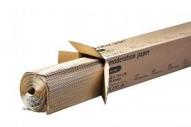 Legamaster 7-240100 Moderationspapier Größe 116x140cm 80g/m² Braun Packung 100 Bogen