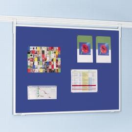 Legamaster 7-301554 Legaline Textiltafel Professional 90x120cm Textil blau