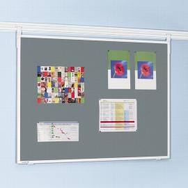Legamaster 7-301654 Legaline Textiltafel Professional 90x120cm Textil grau