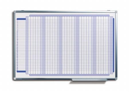 Legamaster 7-410800 Mehrzweckplaner PREMIUM Plus 60x90cm bis 40 Mitarbeiter/Projekte