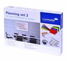 Legamaster 7-435200 Plan-Set 2 für 40 Personen/Objekte