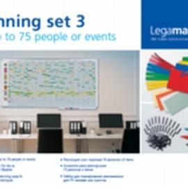 Legamaster 7-435300 Plan-Set 3 für 75 Personen/Objekte