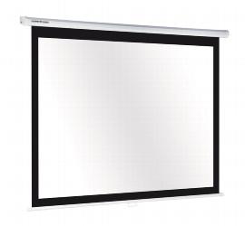 Legamaster 7-544813 Projektionswand ECONOMY manuell Format 16:10 (BxH) 129x200cm