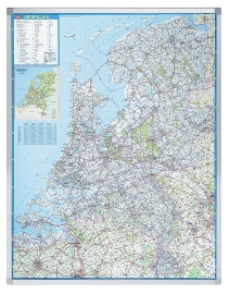 Legamaster 7-612100 Landkarte PROFESSIONAL Niederlande Straßenkarte