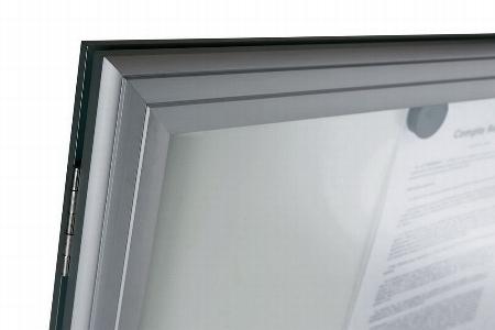 Legamaster 7-630636 Schaukasten PREMIUM Whiteboard (BxH) 518x692mm für den Außenbereich